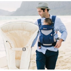 Ergobaby 360 + Naujagimio Įdėklas, French Blue, Cool Air Mesh