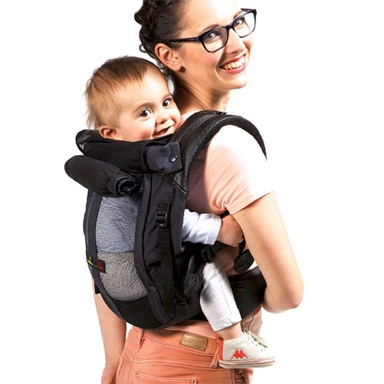 JPMBB PhysioCarrier Tablier ElephantCafe Noir - Porte bebe physiocarrier