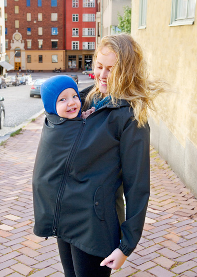 14865ec6f Babywearing in cold weather - this can make a lot off joy!
