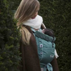 Snoozebaby Kiss&Carry, Forest Green