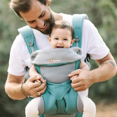 Ergobaby 360, Icy Mint, Cool Air Mesh