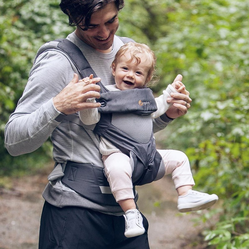 c6e4094c8337 Ergobaby 360 carrier Carbon Grey, Cool Air Mesh