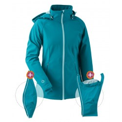 Softshell Babywearing 3in1 Jacket (MAMALILA, teal)