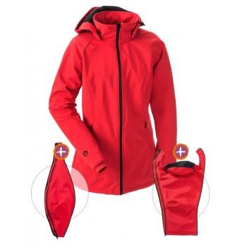 Softshell striukė vaiko nešiojimui, nėštumui, kasdienai (MAMALILA, red)