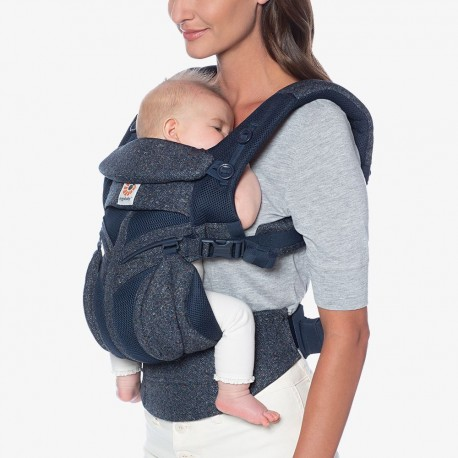 Ergobaby Omni 360 Cool Air Mesh, Blue Tweed