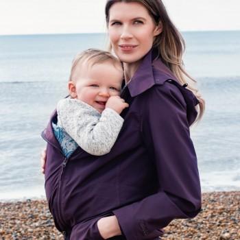NUMBAT GO - striukė vaiko nešiojimui, nėštumui, kasdienai, Purple